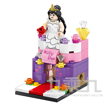 sembo block 積木 婚紗店 601002