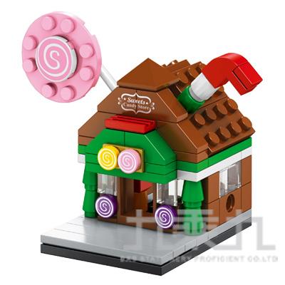 sembo block 積木 糖果屋 601007