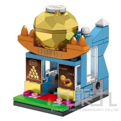 sembo block 積木 巧克力店 601011