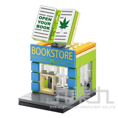 sembo block 積木 書店 601015