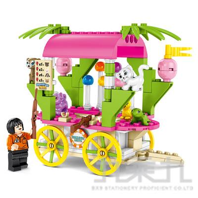 微型積木-四輪餐車系列 601114
