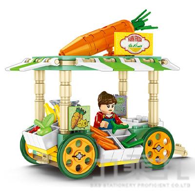 微型積木-四輪餐車系列 601116