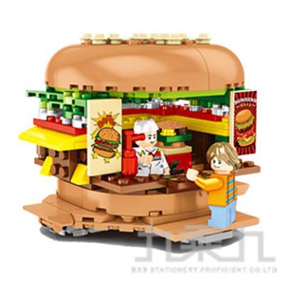 微型積木-漢堡店 601055