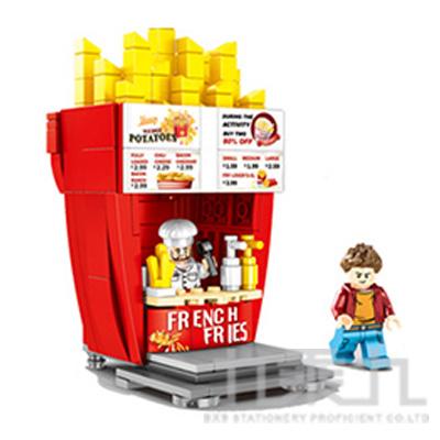 微型積木-薯條店 601058