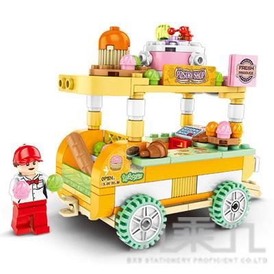 微型積木-經典餐車系列 601109