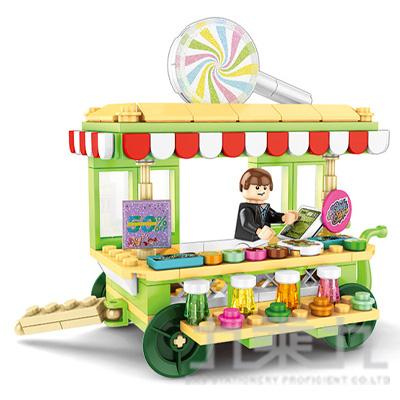 微型積木-經典餐車系列 601112