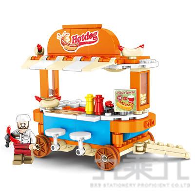微型積木-四輪餐車系列 601113