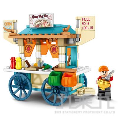 微型積木-四輪餐車系列 601115