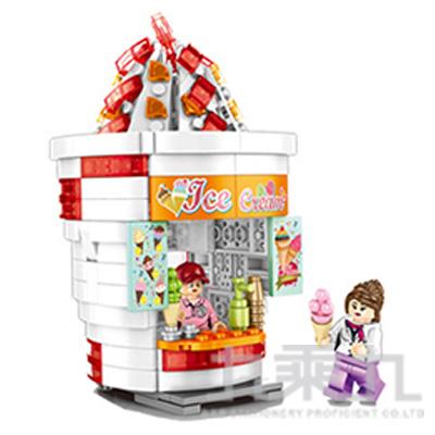 微型積木-冰淇淋店 601057