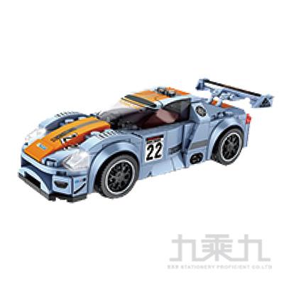 微型積木-賽車系列-藍 607037