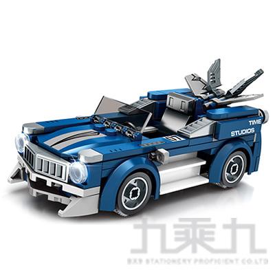 微型積木-賽車系列-藍 607033