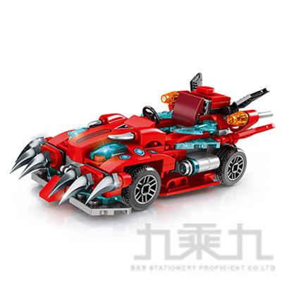 微型積木-賽車系列-紅 607034