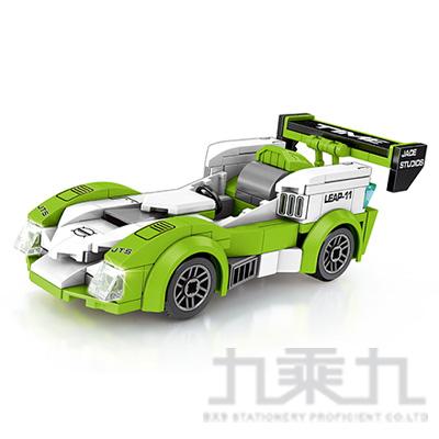 微型積木-賽車系列-綠 607035