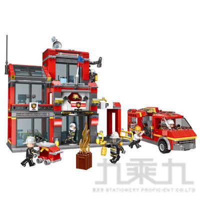 微型積木 消防第六分隊XB14006