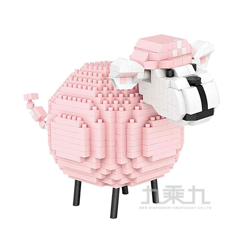 粉紅小綿羊9234
