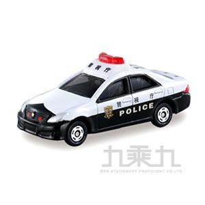 TOMICA 多美小汽車 豐田皇冠警車 TM110