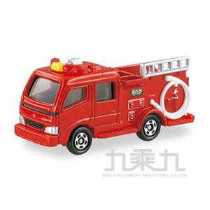 TOMICA 多美小汽車 MORITA紅色消防車 TM041