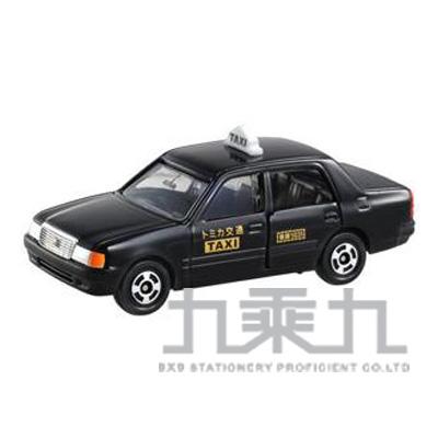 TOMICA 多美小汽車 豐田黑色計程車  TM051A