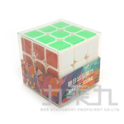 3x3x3三階魔術方塊-白