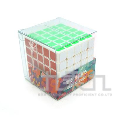 5x5x5五階魔術方塊-白
