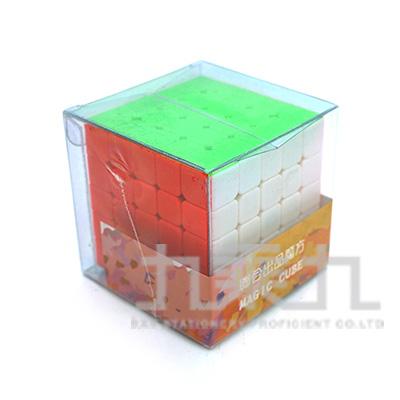 5x5x5五階魔術方塊-六色