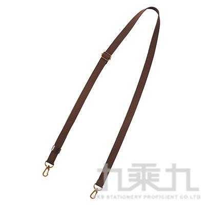 LIHIT 和風棉質隨身包背帶(棕色) A-7709