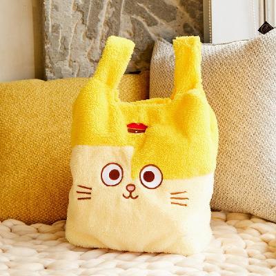 黃阿瑪毛毛提袋
