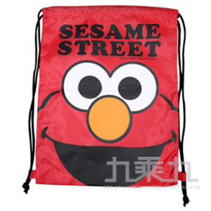 (+55)芝麻街束口購物背袋(ELMO版) 1個