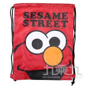 (+55)芝麻街束口購物背袋(ELMO側面版) 1個