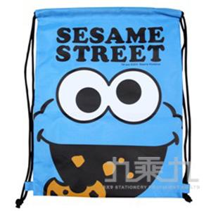 芝麻街束口購物背袋餅干怪獸 SE08351C