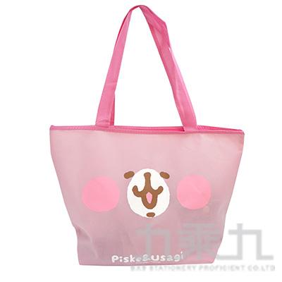 卡娜赫拉 不織布購物袋(大)-兔兔版 KS08231A