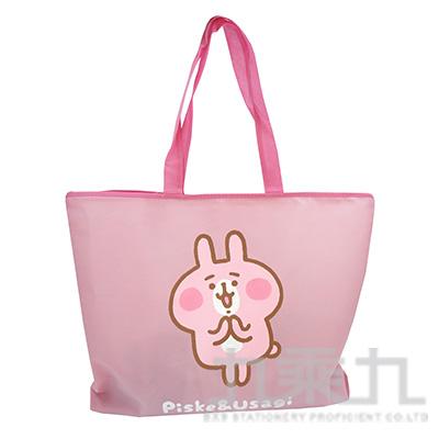 卡娜赫拉 不織布購物袋(特大)-兔兔 KS08241A