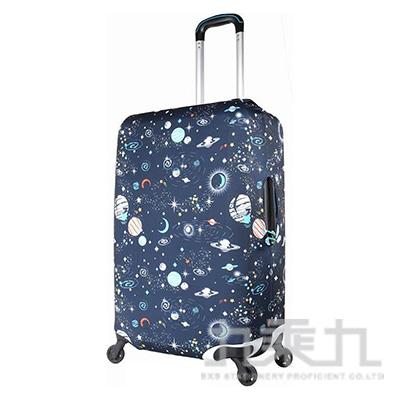 行李箱保護套22~26吋/宇宙星空