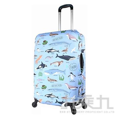 行李箱保護套22~26吋/如魚得水