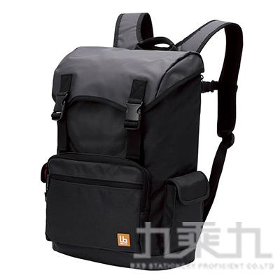 ELECOM 大容量防潑水後背包-黑 BM-BP02BK