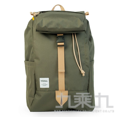 Hellolulu Sutton多用途後背包/橄欖綠 HL50110-13