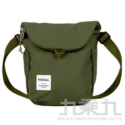 hellolulu DESI 休閒側背包-橄欖綠