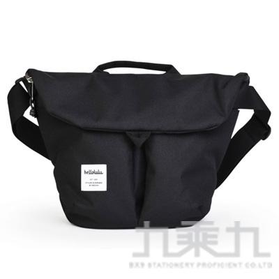 hellolulu KASEN 輕旅戶外側背包-黑 HL50147-01