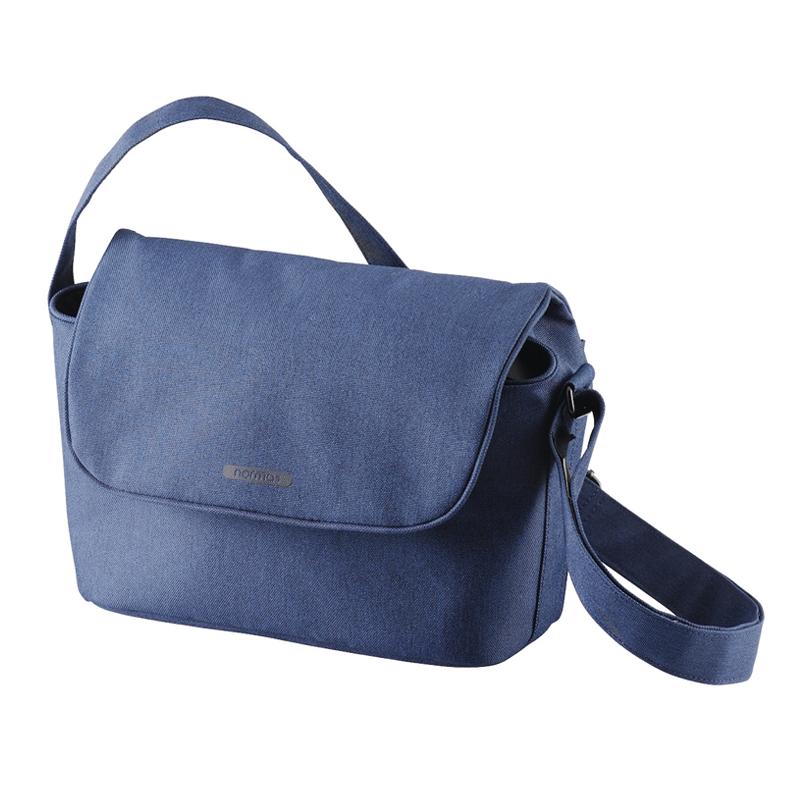 ELECOM normas休閒多功能側背包-海軍藍