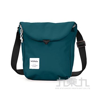 hellolulu DESI 休閒側背包-藍綠