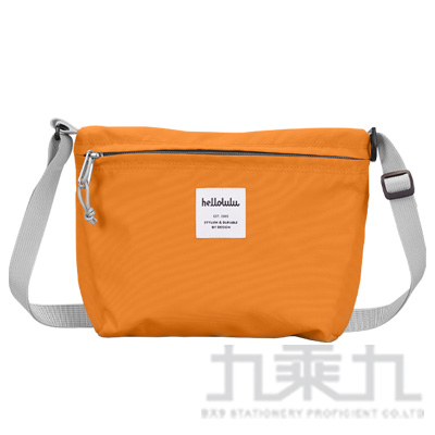 hellolulu CANA 隨身側背包-柑橘