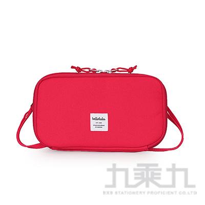 Hellolulu SHANNON收納側背包-番茄紅