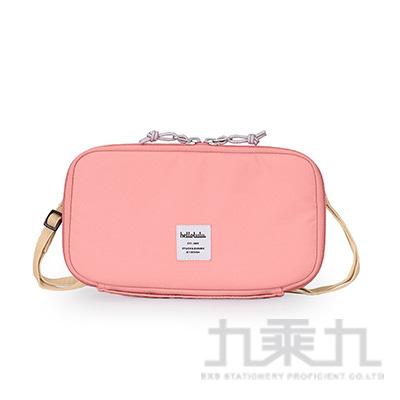 Hellolulu SHANNON收納側背包-淺粉紅
