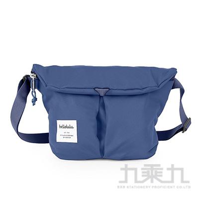 hellolulu MiniKASEN輕旅戶外側背包-煙醺藍