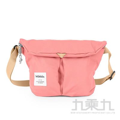 hellolulu MiniKASEN輕旅戶外側背包-淺粉紅