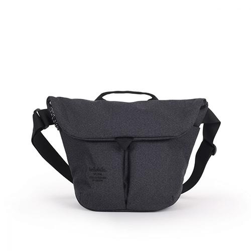 hellolulu 米朗琪系列Kasen輕旅戶外側背包-煤黑