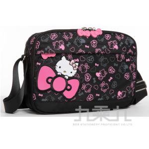 Hello Kitty 繽紛彩糖系列側背包(中) KT01A02BK