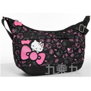 Hello Kitty 繽紛彩糖系列側背包(大) KT01A03BK