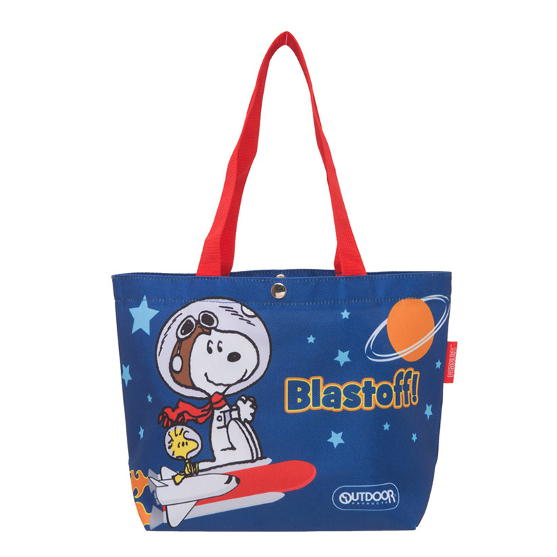 SNOOPY聯名購物袋(太空梭)