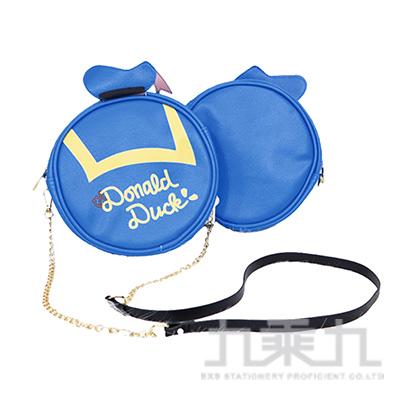 迪士尼圓型肩袋萬用包-唐老鴨